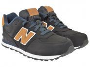 New Balance Sneaker KL574 schwarz