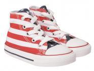 Converse Chucks Hi Sneaker 7J254 rot-weiss