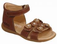 MOD8 Sandale Gribouill braun