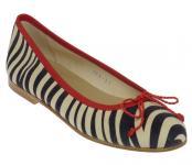 Antea Pretty Ballerina zebra-beige