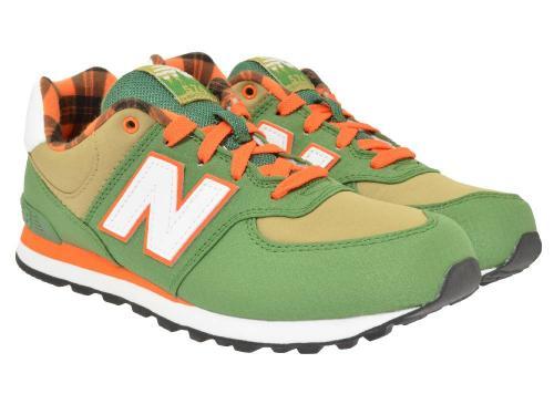 New Balance Sportschuhe KL574 grün