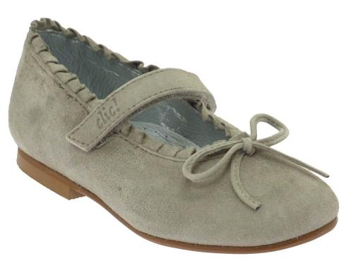 Clic Spangenschuhe 7705 taupe