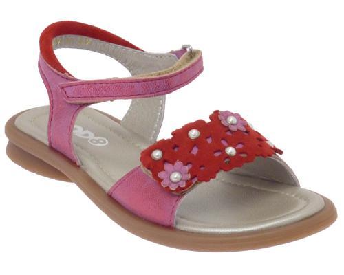 MOD8 Sandale Jirafe rot