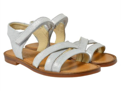 Beberlis Sandale 17605 silber