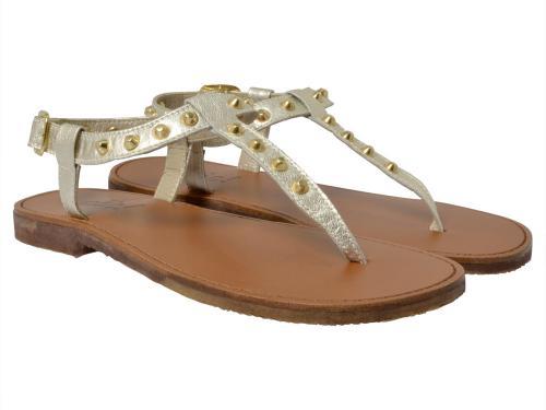 Clic Sandale 8549 platin-grau