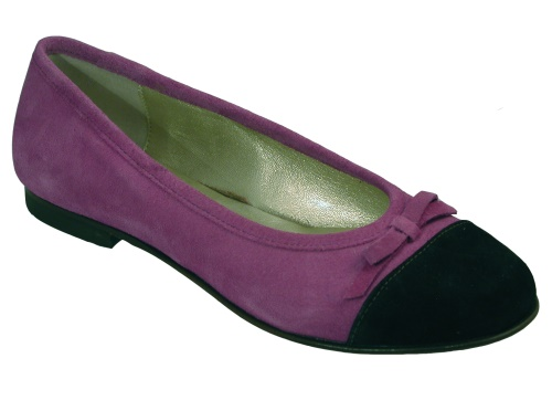 Gallucci Ballerina violett-braun