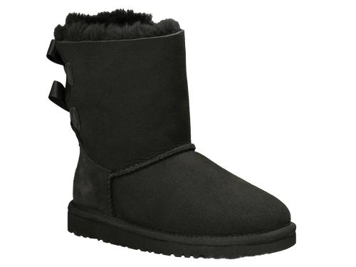 UGG Boots Bailey Bow in schwarz
