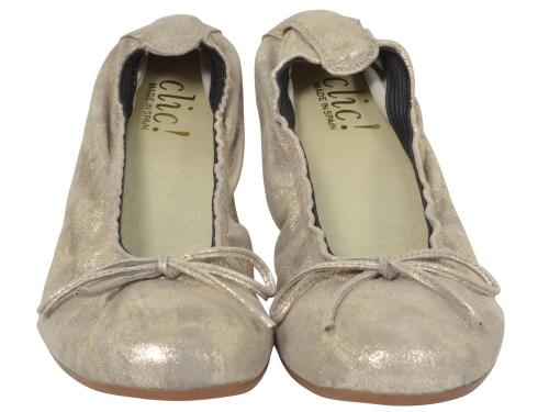 Clic Ballerina 4278 taupe-gold