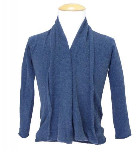 Woolrich Strickjacke Genny blau