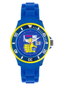 Ice-Watch LMIF summer 2011 - Royal blue hand - Small