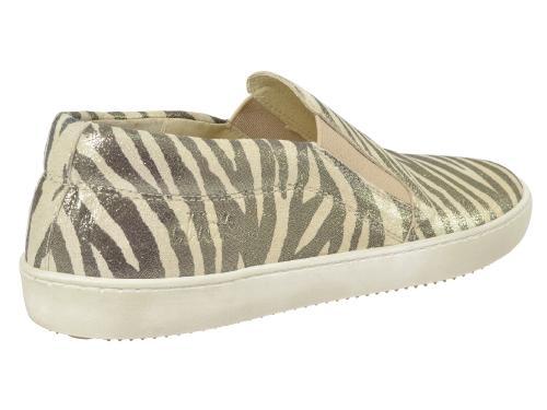 Clic Slipper 8757 zebra-gold