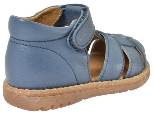 Clic Flechtsandale 8737 blau