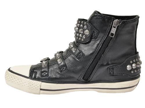 Ash Sneaker Frog schwarz