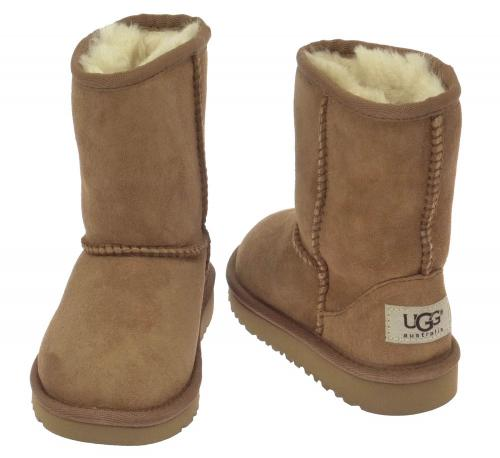 UGG Kids Classic Short Stiefel caramel (chestnut)