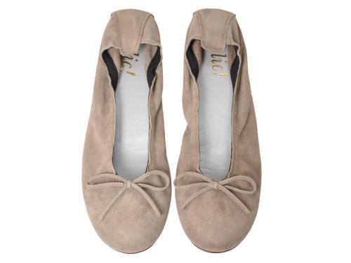 Clic Ballerina  4278 taupe