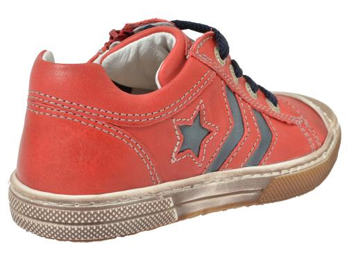 Stones & Bones Sneaker rot-blau