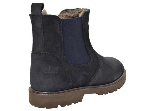 Clic Chelsea Boot 8658 F blau