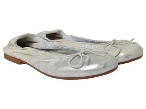 Clic Ballerina 4278 silber-weiß