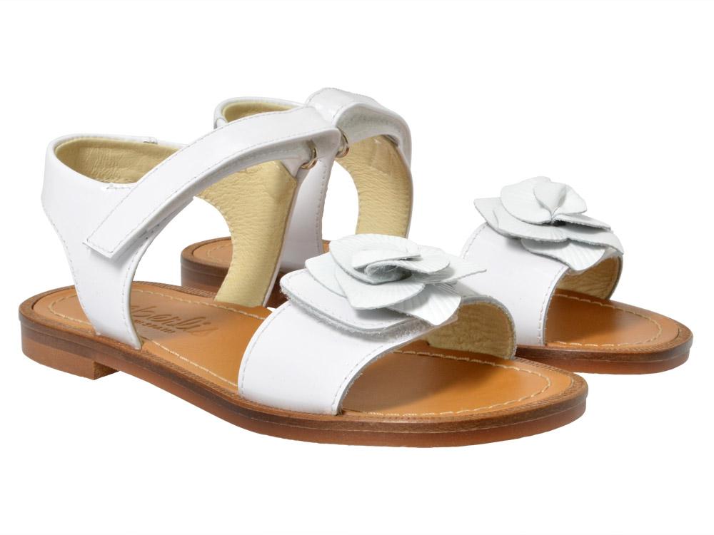 beberlis sandale 17609 wei kinderschuhe g nstig online. Black Bedroom Furniture Sets. Home Design Ideas