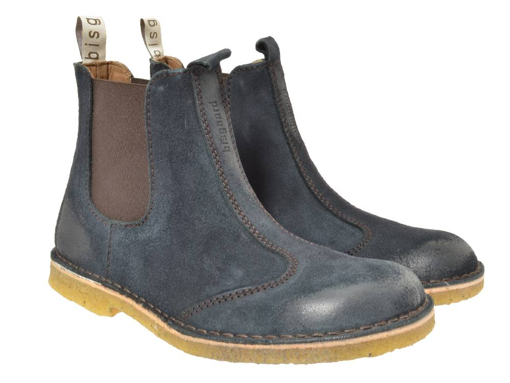 bisgaard chelsea boots blau kinderschuhe g nstig online kaufen. Black Bedroom Furniture Sets. Home Design Ideas