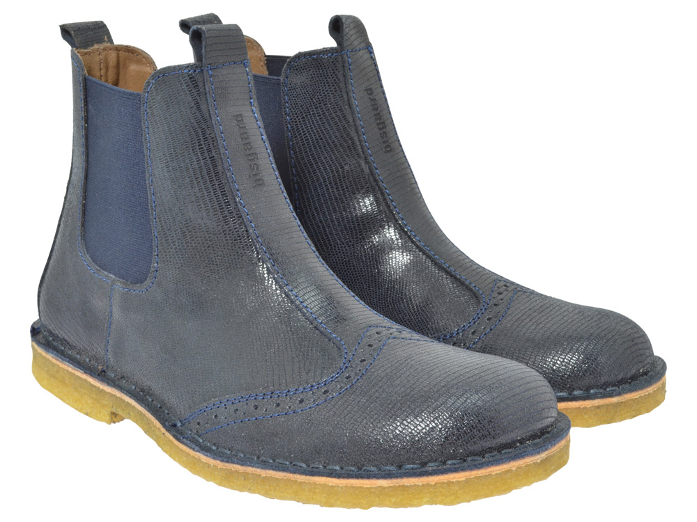 bisgaard chelsea boots 50203 blau kinderschuhe g nstig online kaufen. Black Bedroom Furniture Sets. Home Design Ideas