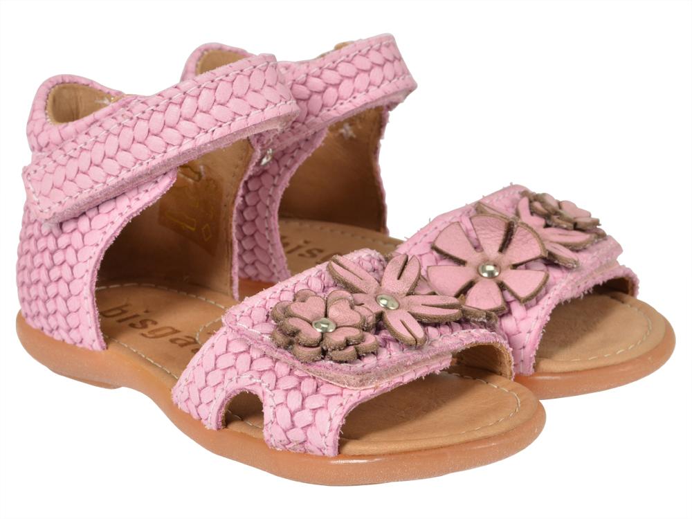 bisgaard sandale 71204 rosa kinderschuhe g nstig online. Black Bedroom Furniture Sets. Home Design Ideas