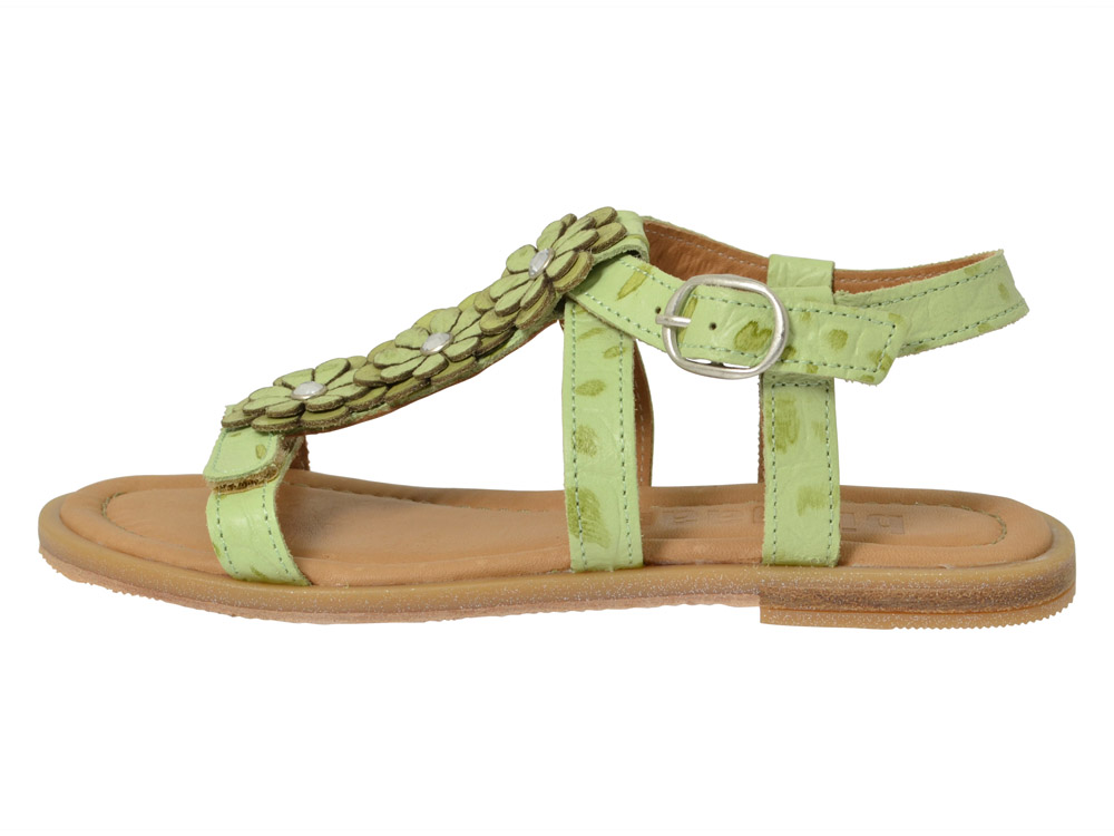bisgaard sandale 71917 gr n kinderschuhe g nstig online. Black Bedroom Furniture Sets. Home Design Ideas