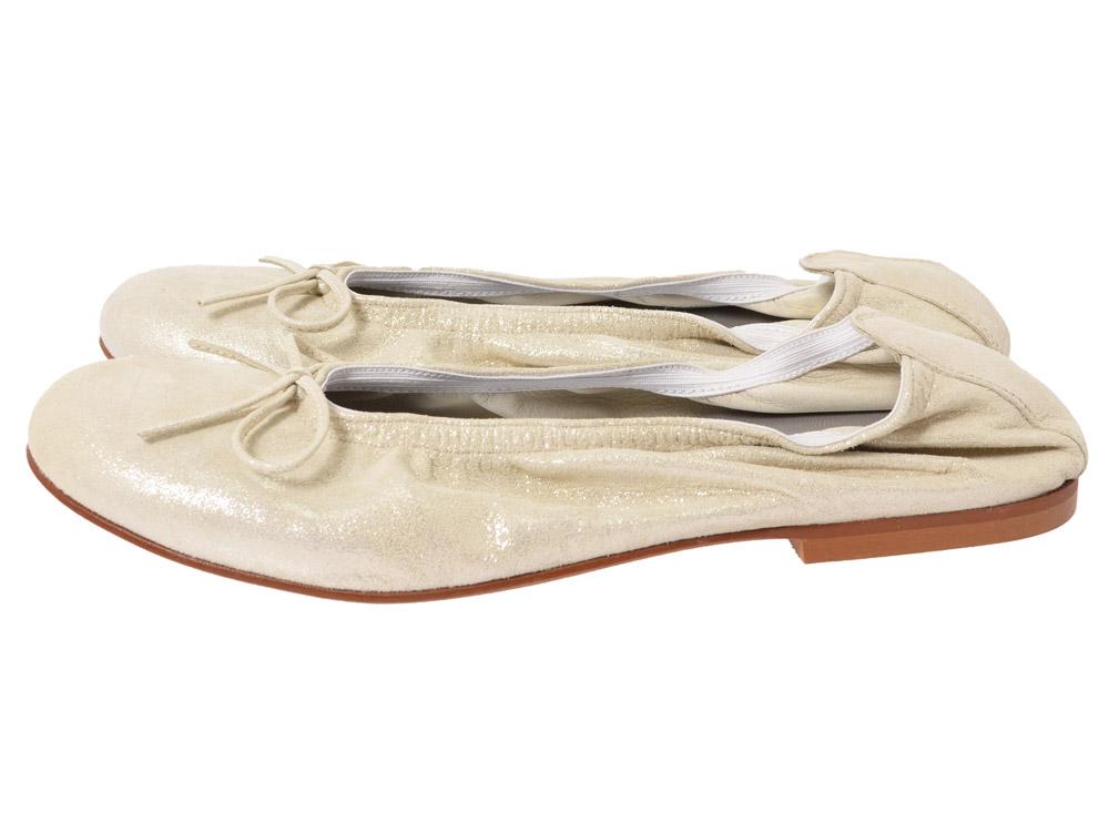 clic ballerina 4278 champagner kinderschuhe g nstig. Black Bedroom Furniture Sets. Home Design Ideas