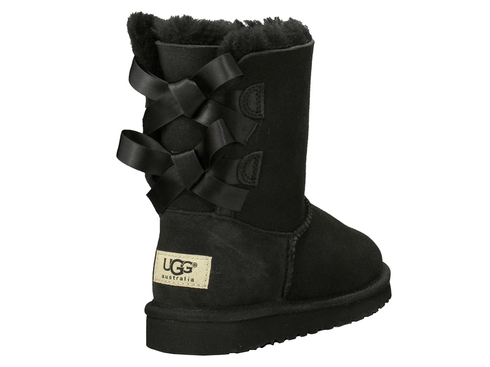 ugg boots bailey bow schwarz damen galvins com au ugg. Black Bedroom Furniture Sets. Home Design Ideas