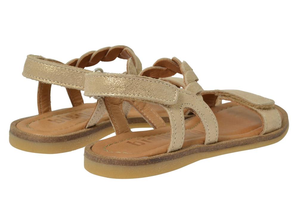 bisgaard sandale 71919 gold kinderschuhe g nstig online. Black Bedroom Furniture Sets. Home Design Ideas