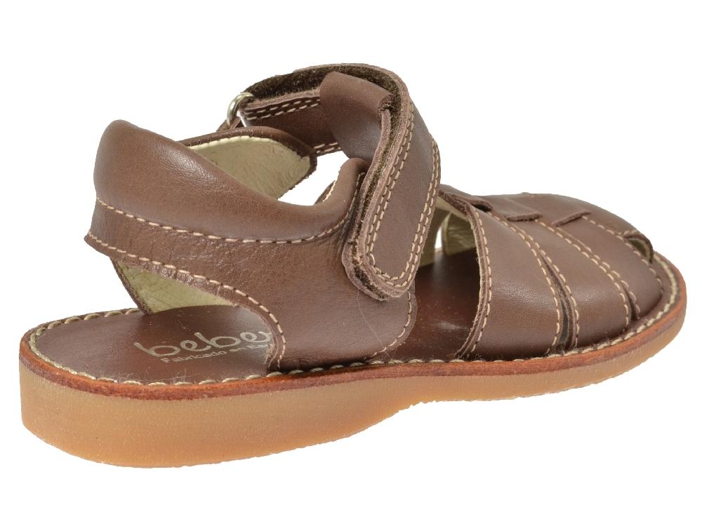 beberlis sandale 16360 braun kinderschuhe g nstig online. Black Bedroom Furniture Sets. Home Design Ideas