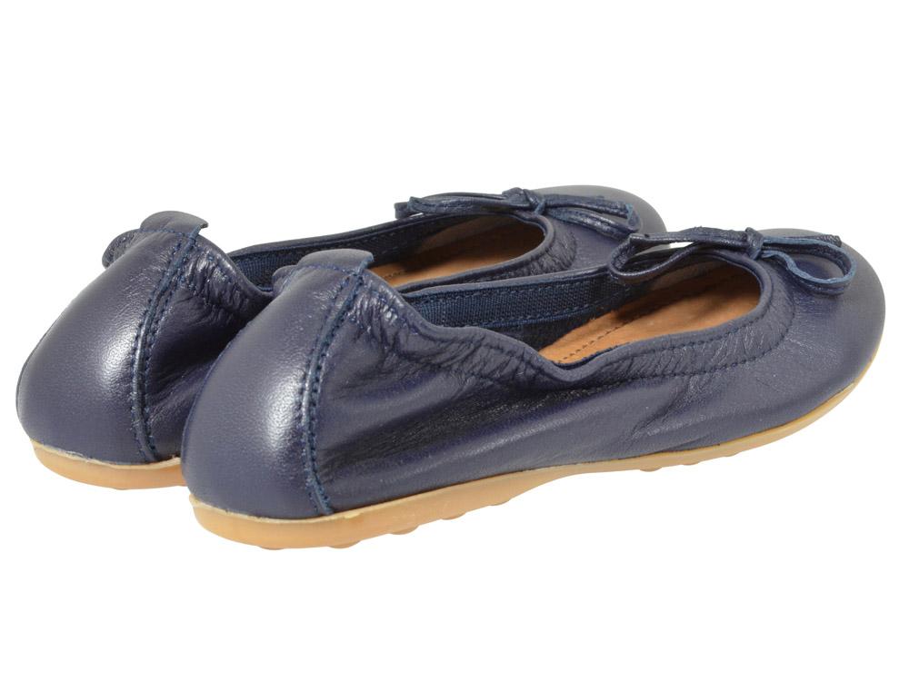 bisgaard ballerina 81916 blau kinderschuhe g nstig. Black Bedroom Furniture Sets. Home Design Ideas